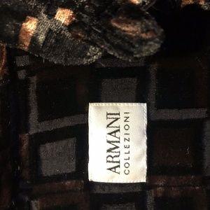 Gorgeous Armani Collezioni burnt velvet shirt